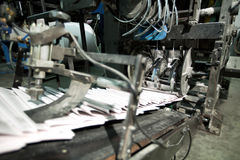 Free Ready Newspaper On Production Line Stock Image - 23599511