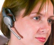 Ready per ascoltare Immagine Stock