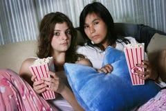 Ready per guardare un film Immagini Stock