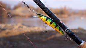 Ready per pesca fotografie stock