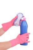 Ready per pulire Immagini Stock
