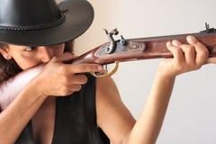 Ready per sparare Fotografia Stock