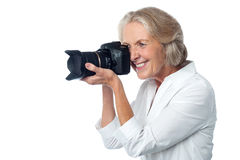 Ready for the picture? Smile Please! Royalty Free Stock Photography