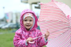 Ready for rain Royalty Free Stock Image
