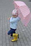 Ready for rain Royalty Free Stock Images