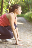 Ready For Running Fitness Lifestyle Royalty Free Stock Image