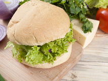Ready sandwich Royalty Free Stock Photos