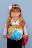 Ready for school Stock Image