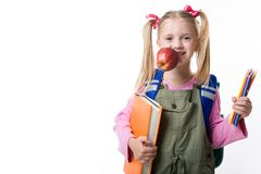 Ready for school Stock Photography