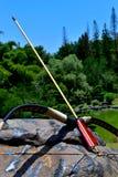 Ready set Bow and Arrow Royalty Free Stock Photo