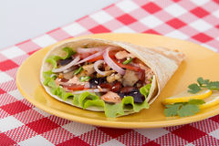Ready shawarma Stock Image