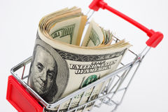 Ready for shopping Stock Photography