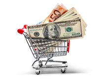 Ready for shopping Royalty Free Stock Images