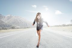 Ready! Steady! GO! Stock Images