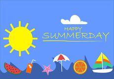 READY FOR SUMMER , READY FOR FUN. ARE YOU READY FOR SUMMER? YOU CAN GOT IT BECAUSE SUMMER DAY IS COMING . HAPPY SUMMER AND HAVE FUN Royalty Free Stock Photography
