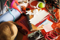 Ready for Summer Holiday Stock Photos