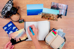 Ready for summer holidays Stock Photography
