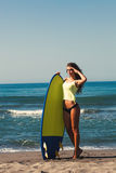 Ready for surf Stock Photography