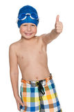 Ready for swimming Royalty Free Stock Photos