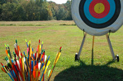 Ready for Target Practice Royalty Free Stock Photography