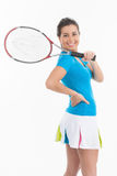 Ready for tennis game. Stock Photo
