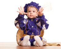 Ready to be a prince! Royalty Free Stock Photo