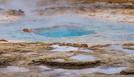 Ready to Boil. A n Iceland geyser ready to boil royalty free stock photo