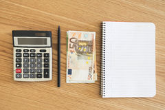 Ready to calculate Royalty Free Stock Images