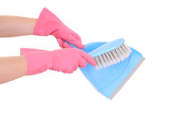 Ready to clean Stock Photography