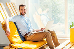 Ready to do business. Royalty Free Stock Image