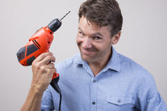 Ready to drill Royalty Free Stock Image