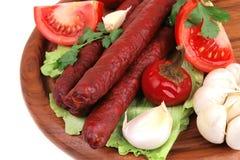 Ready to eat hot dog Royalty Free Stock Photo