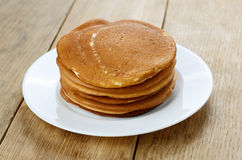 Ready to eat pancake Royalty Free Stock Images