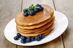 Ready to eat pancakes Royalty Free Stock Photo