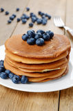 Ready to eat pancakes Royalty Free Stock Image