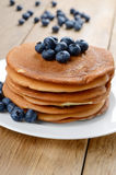 Ready to eat pancakes Stock Images
