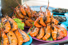 Ready to eat seafood Royalty Free Stock Photography