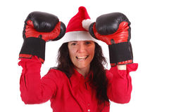 Ready to fight Stock Images