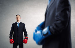 Ready to fight for success Stock Photos