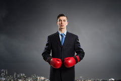 Ready to fight for success Stock Image