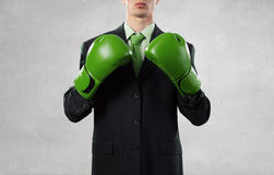 Ready to fight for success Royalty Free Stock Photography