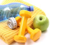 Ready to fitness Royalty Free Stock Image