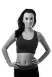 Ready to get fit Royalty Free Stock Image