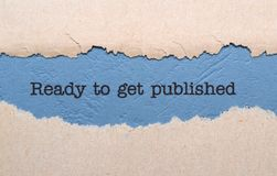 Ready to get published Royalty Free Stock Images