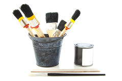 Ready to go painting Royalty Free Stock Photos