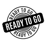 Ready To Go rubber stamp Royalty Free Stock Photo