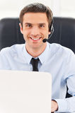 Always ready to help you. Royalty Free Stock Photo