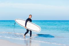 Ready to hit waves Royalty Free Stock Images