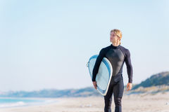 Ready to hit waves Royalty Free Stock Photography