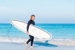 Ready to hit waves Royalty Free Stock Photos